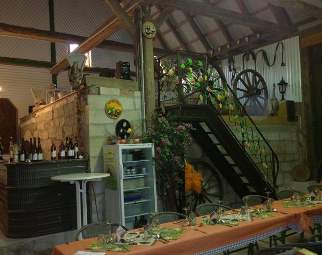 Weinscheune - Innen 2